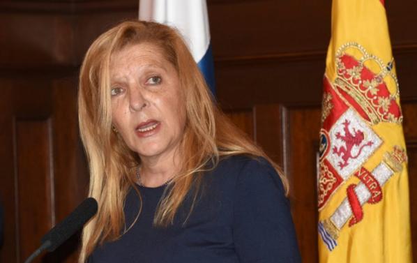 Resultado de imagen de Rosario Cabrera subdelegada del gobierno en tenerife